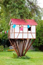 Domek ve stromu se pro děti stane druhým domovem