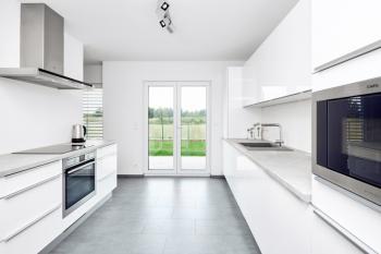 Vzorový dům - kuchyně