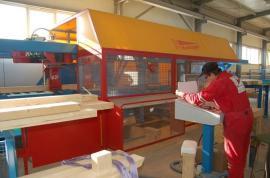 Výroba panelových prvků pro dřevostavby