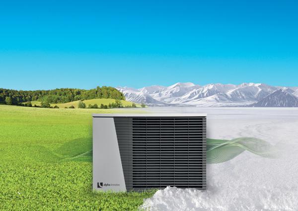 Tepelné čerpadlo vzduch/voda alpha innotec LWD