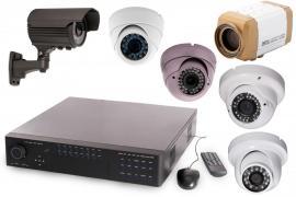 Záznamová jednotka a kamery