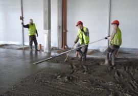 Profesionálně zhotovíme celou betonovou podlahu.