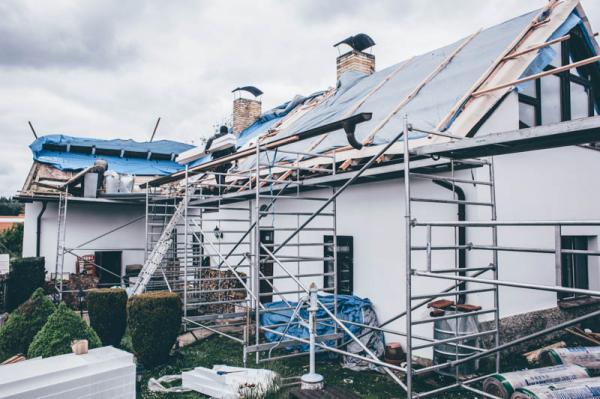 Zateplení střechy chalupy na Dobříšsku