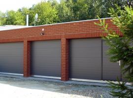 Sekční garážová vrata TRIDO