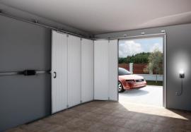 Posuvná garážová vrata TRIDO