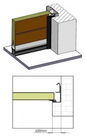 Sekční garážová vrata TRIDO Mini