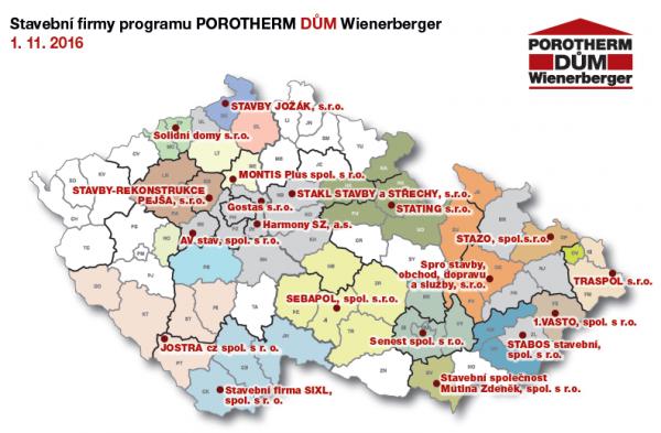Mapa PDW