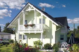 Dům střední velikosti NOVA 86 splňuje požadavky na prostorné a komfortní bydlení.