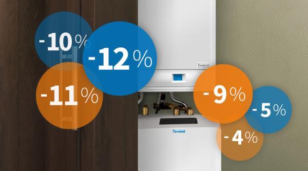 Akční ceny kondenzačních kotlů a setů