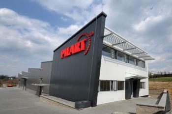 Prodejní a administrativní hala Pilart 12 x 50 m Blansko