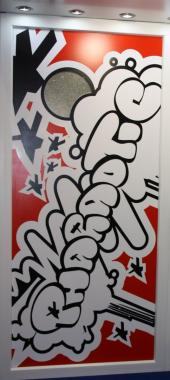 Dveře ve stylu graffiti