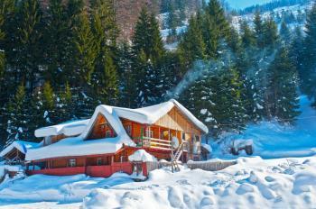 Sněhem zatížené střechy