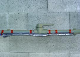 Izolace vodovodního potrubí