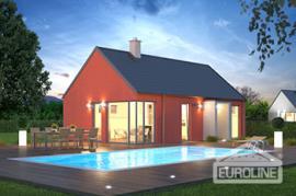 Vizualizace typového domu BUNGALOV S 1409