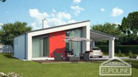 Vizualizace typového domu BUNGALOV S 1408