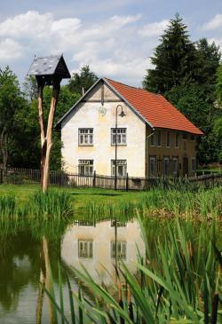 Dům určený k rekonstrukci, ale na nádherném místě