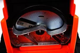 Drtič Powercut 2500, detail nožů, zdroj: Mountfield
