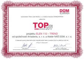 Ocenění TOP DŮM 2017