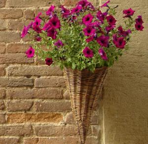 Pletený květináč