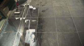 Aplikace materiálu Horsemen StoneCare na velkou plochu