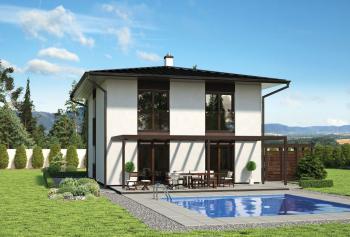 Typový nízkoenergetický či pasivní dům THORIA
