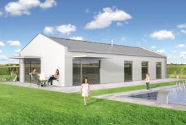 Typový nízkoenergetický či pasivní dům ANION