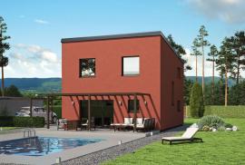 Typový nízkoenergetický či pasivní dům GALI