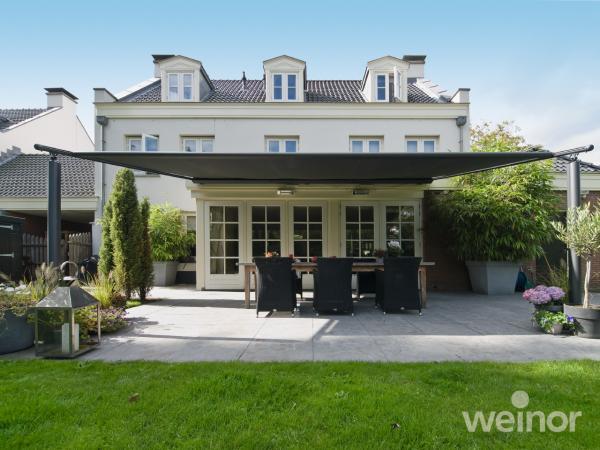Plaza Home spolehlivě zastíní domácí terasu i s velkými rozměry