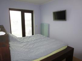 Bungalov v Zelené Hoře - ložnice s GR panelem