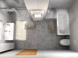 Petr Slavík, Koupelnové studio Bravea, Roudnice nad Labem, designový radiátor Zehnder Metropolitan Bar