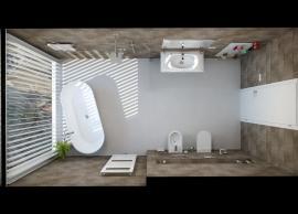 Adam Kotek, Koupelny Ptáček, Praha 4, designový radiátor Zehnder Metropolitan Spa