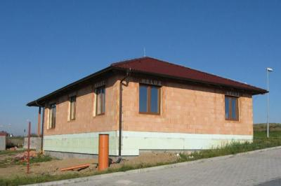 Dům vyzděný z cihel HELUZ
