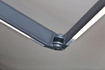 Detail ramen s LED svítidly
