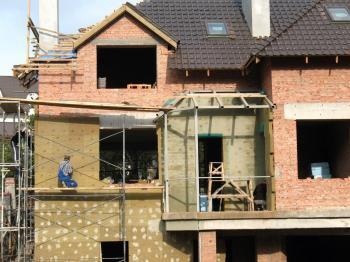 Zateplování domu minerální vatou