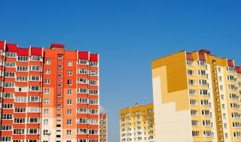 Zateplené panelové bytové domy