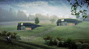 Tento český ostrovní dům navrhl Petr Čmelík a Martin Stark