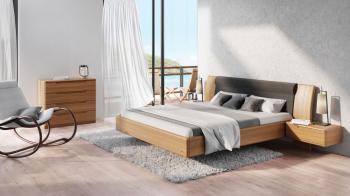 Levitující postel od firmy JELÍNEK - výroba nábytku s.r.o.