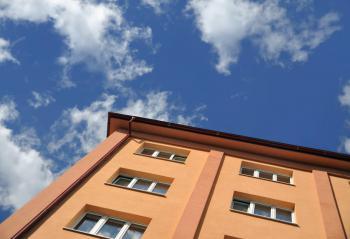 Zděný bytový dům