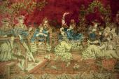 Předchůdci textilních tapet - gobelíny
