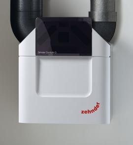 Foto: www.zehnder.cz, kompletní systém větrání s rekuperací