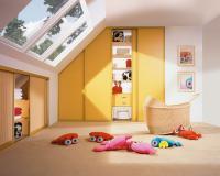Úložné prostory v podkroví, Zdroj: Komandor