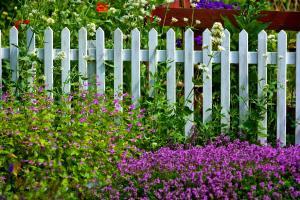 Dřevěný plaňkový plot, ilustrační foto (www.shutterstock.com)