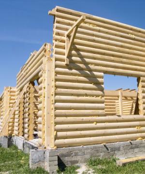 Ilustrační foto (www.shutterstock.com), výstavba srubu