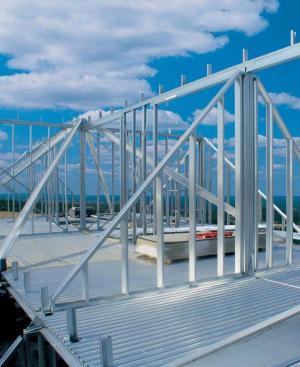 Foto: Lindab, lehká konstrukce z nosníků