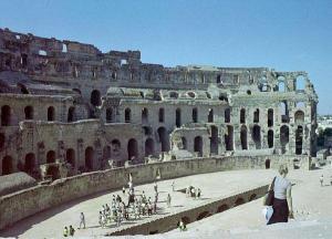 Obr. 4: Amfiteátr v El Jem