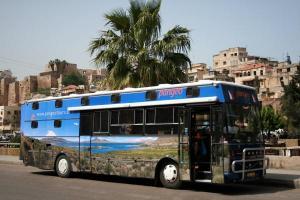 Hotelbus v Africe